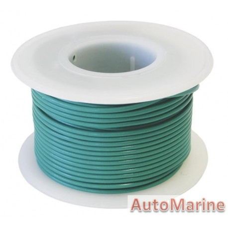 Cable Green 0.80mm - 30M  Reel
