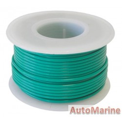 Cable Green 1.25mm - 30M  Reel