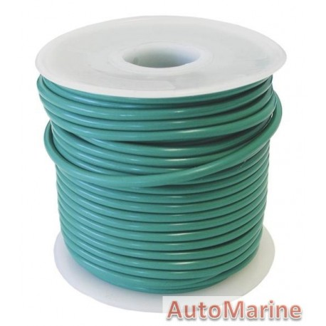Cable Green 3.00mm - 30M  Reel