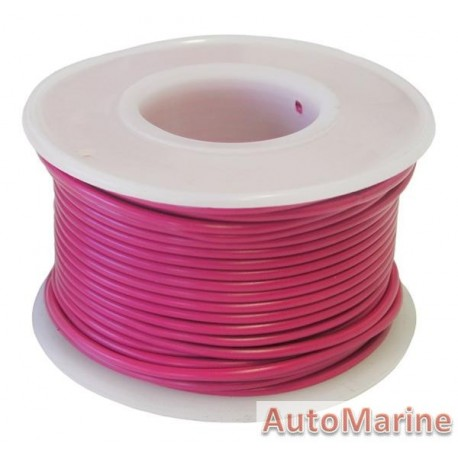 Cable Red 1.25mm - 30M  Reel