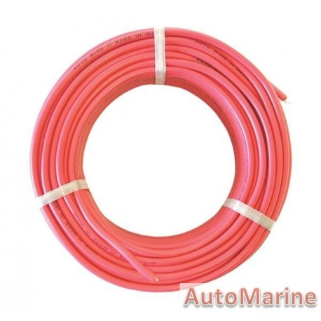Cable Red 1.6mm  - 30M Boxed