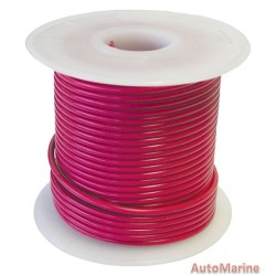 Cable Red 2.00mm - 30M  Reel