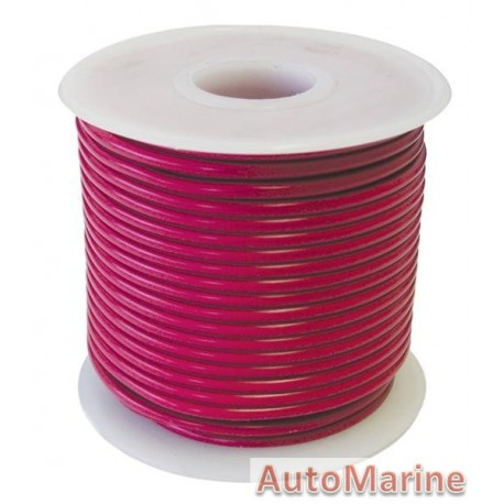 Cable Red 3.00mm - 30M  Reel