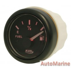 Fuel Level Gauge - 52mm - Black