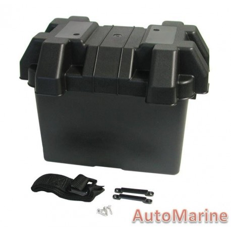 Marine Battery Box - 275mm x 180mm x 200mm