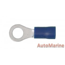 Blue Ring Terminal 5.3mm - 100 Pieces