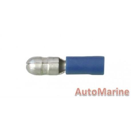 Blue Bullet Terminal - Male - 10 Pieces