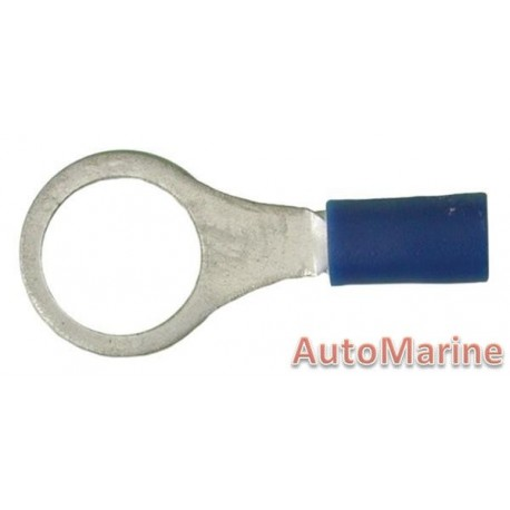 Blue Ring Terminal 10.5mm - 10 Pieces