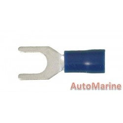 Blue Fork Terminal - 5.3mm - 10 Pieces