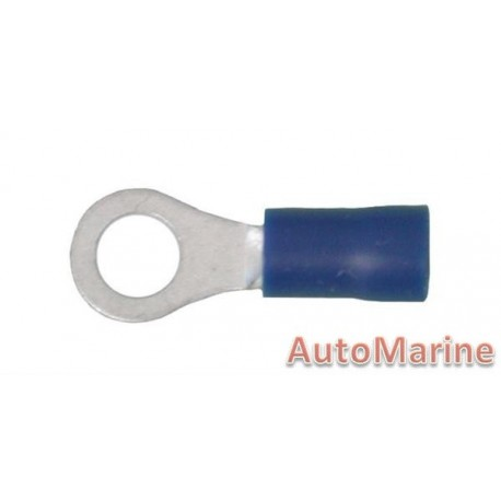 Blue Ring Terminal - 5.3mm - 10 Pieces