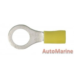 Yellow Ring Terminal - 10.5mm - 100 Pieces