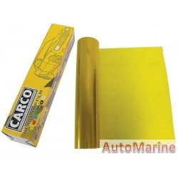 Headlamp Film - Yellow - 40cm x 1m