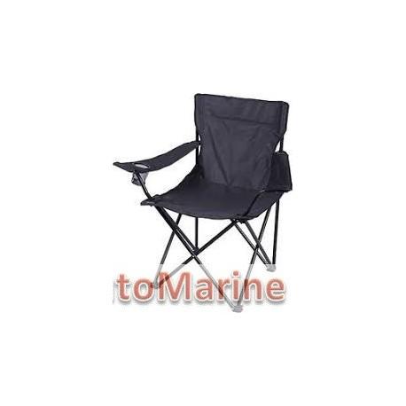 Camping Chair - Heavy Duty - Black