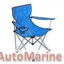 Camping Chair - Heavy Duty - Blue
