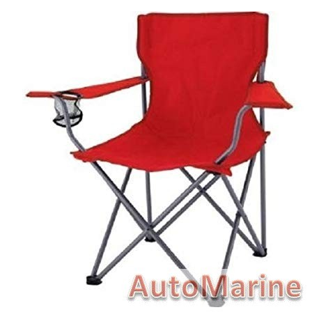 Camping Chair - Heavy Duty - Black