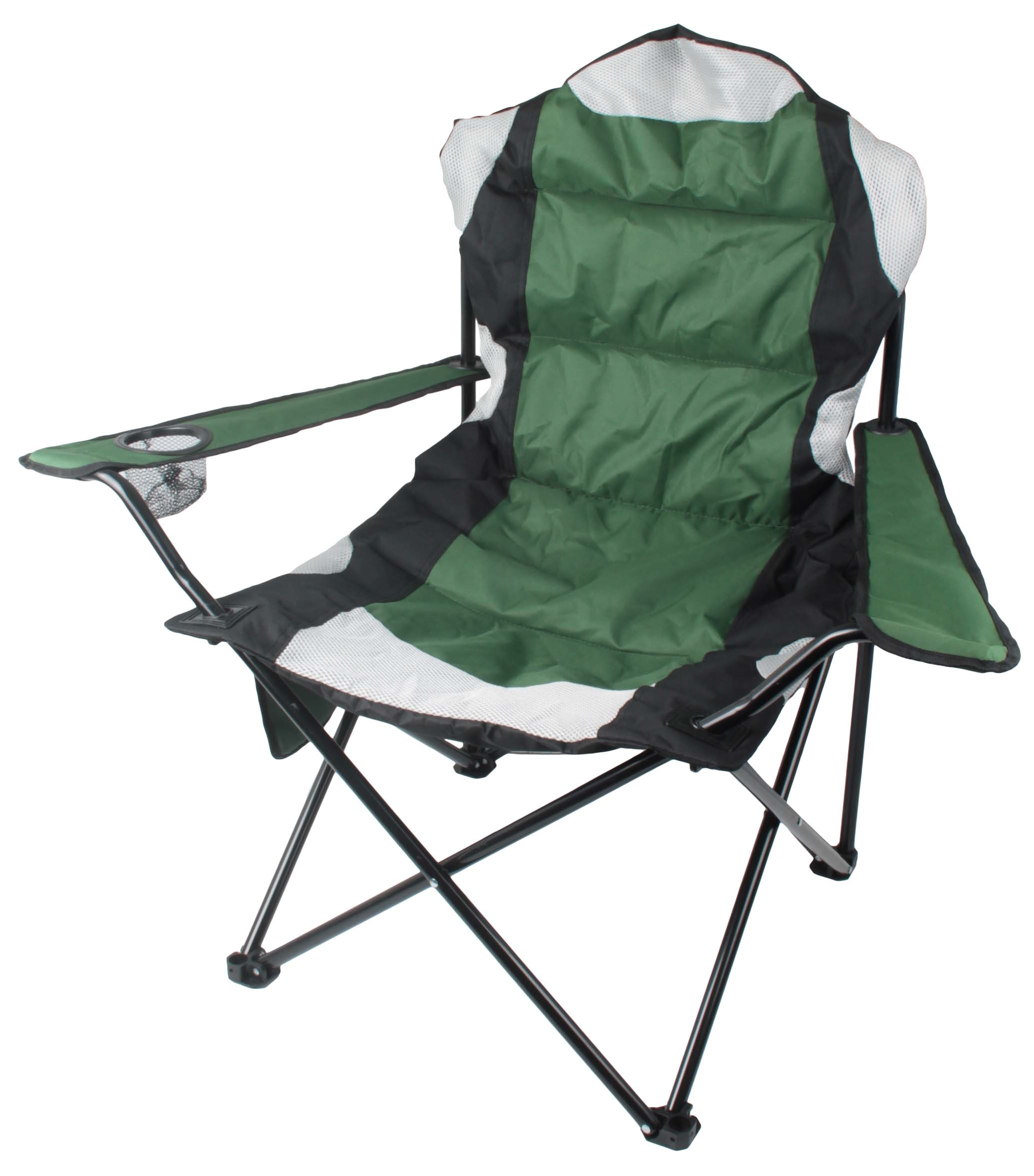 Camping Chair Heavy Duty Green