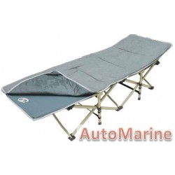 Camping Bed - Grey