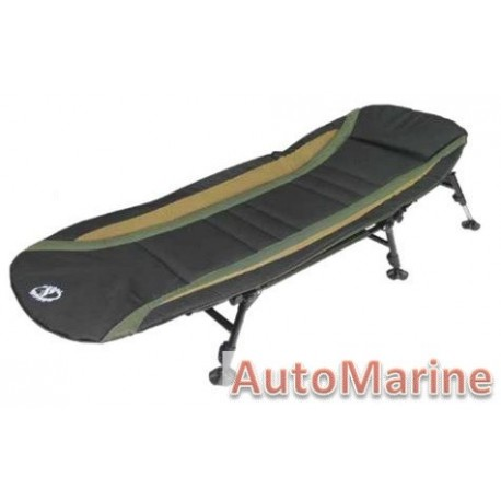 Camping Bed - Black  Yellow