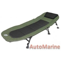 Camping Bed - Black  Green