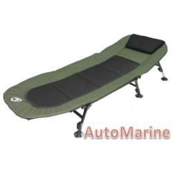 Camping Bed - Black  Green