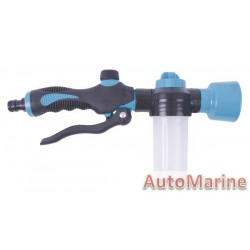 Garden Spout with Chemical Dispenser