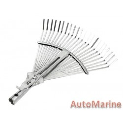 Adjustable Metal Rake Head