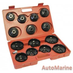 Oil Filter Remover 14 Pc Cup Type