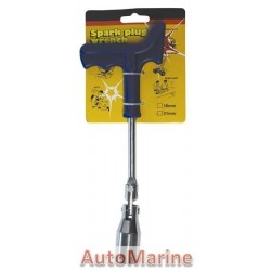 Plug Spanner 21mm with Plastic Handle