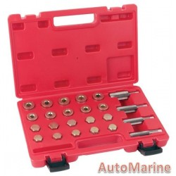 Sump Plug and Rethreading Kit 20 Piece