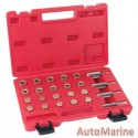 Sump Plug and Rethreading Kit 20 Piece