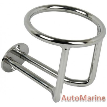 Heavy Duty Stainless Steel Cup Holder