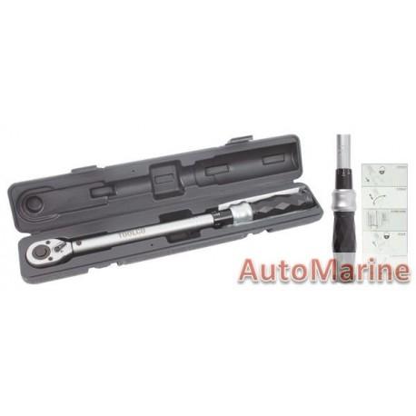 Torque Wrench 40-210Nm Toolco
