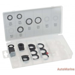 Sump Plug Washers - Assorted - 60 Piece