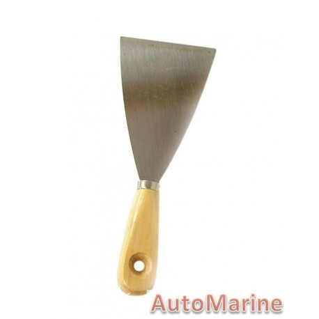 80mm Scraper Wooden Handle