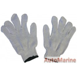 Cotton Gloves 40G White (Pair)