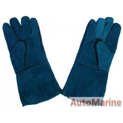 Welding Gloves Green 220 gram (Pair)