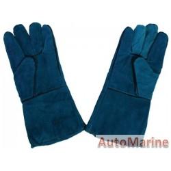 Welding Gloves Green 220 gram (Pair)