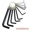 10 Piece Inner Hex Wrench Set