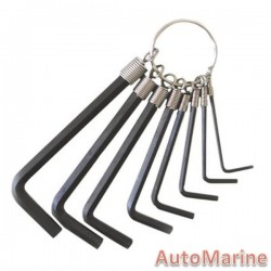 8 Piece Allen Key Set