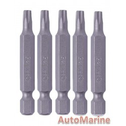 Screwdriver Bits 5 Piece Torx T25 Cr-V