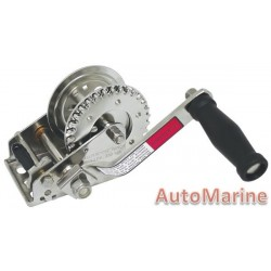 850LB Hand Winch - Stainless Steel