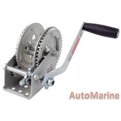 2000LB Hand Winch with Double Gear