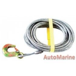 Winch Cable 10 meter x 6mm