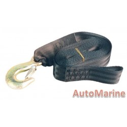Winch Strap 4.5 meter with Fitting Kit