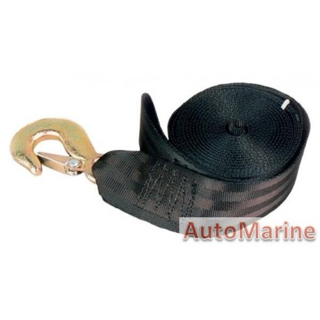 Winch Strap 6 meter with Fitting Kit