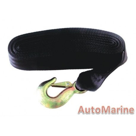 Hand Winch Strap and Hook