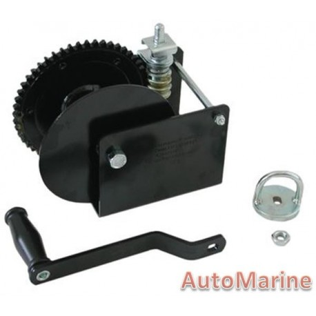 1500LB Hand Winch with Worm Gear