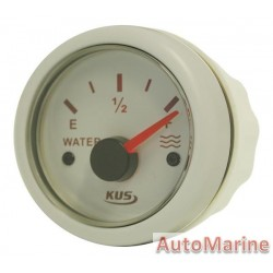 Water Level Gauge - 52mm - White