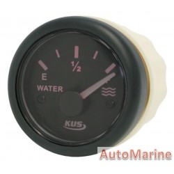 Water Level Gauge - 52mm - Black