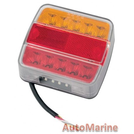 Left Hand LED Trailer Lamp - 12 Volt